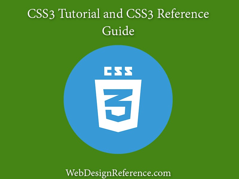 CSS3 Tutorial and CSS3 Reference